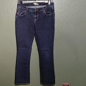 Old Navy dark blue jeans